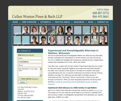 Cullen Weston Pines & Bach LLP
