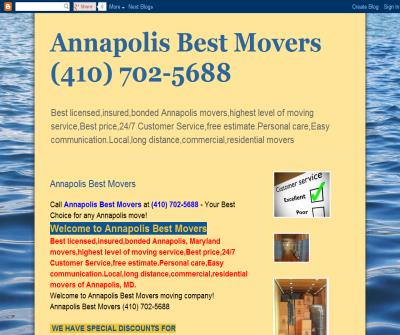 Annapolis Best Movers