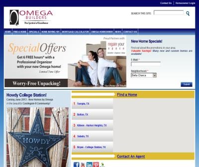 Omega Builders, Home Builders in Central Texas