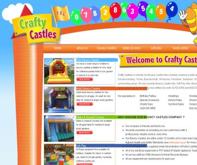 Crafty Castles Bouncy Castle Hire