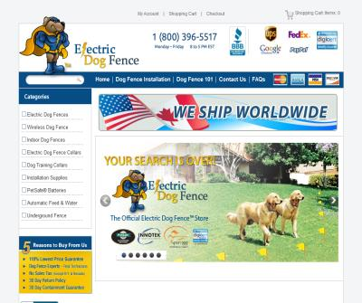 Electric Dog Fence your official brand site for electric dog fences