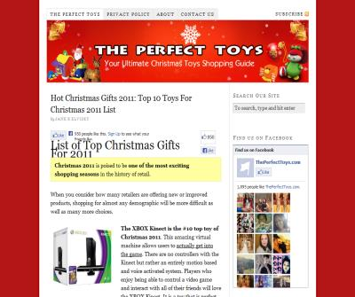 www.ThePerfectToys.com