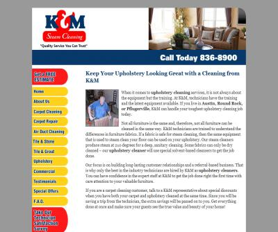 Austin Upholstery Cleaning