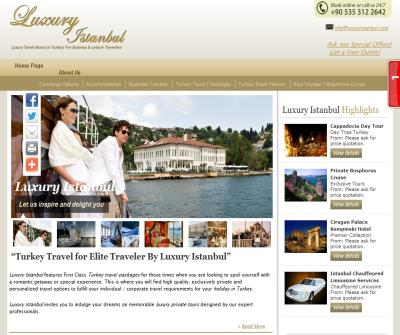 Luxury Istanbul & Turkey holidays for Business & Leisure travelers