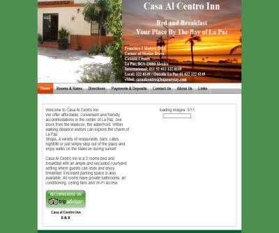 Casa Al Centro Inn Bed and Breakfast in La Paz Baja California Sur Mexico