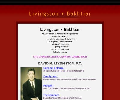 David M. Livingston, Attorney at Law