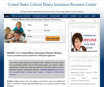 Critical illness and Cancer Resource Center