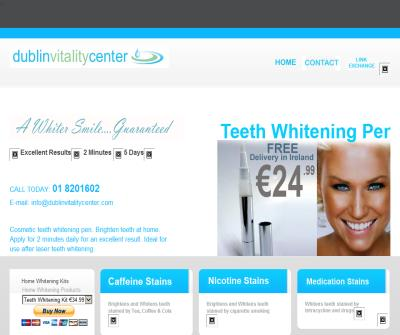 34 euros - Teeth Whitening Home Kits Ireland