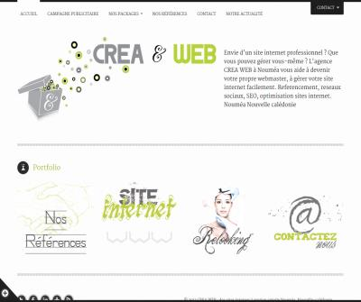 Creation Website Noumea
