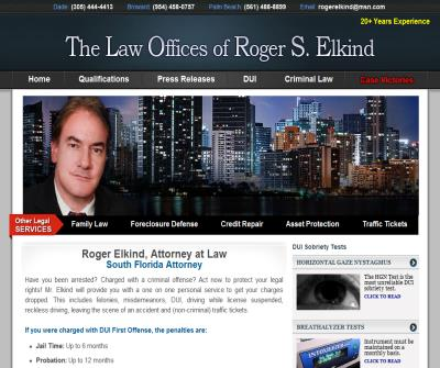Roger Elkind south florida dui attorney