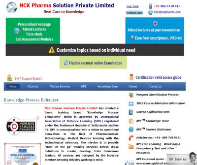NCK Pharma Solution Private Limited