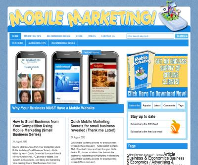 Top Mobile Marketing Secrets