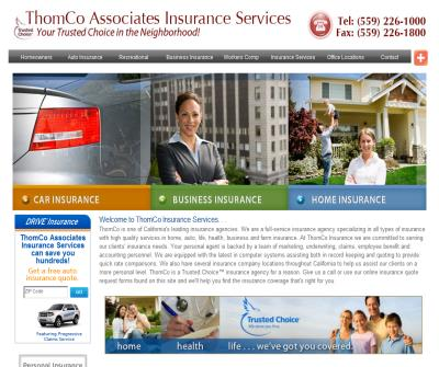 ThomCo Insurance of California - Car, Home, Health, Life