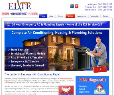 Elite Heating, Cooling and Plumbing