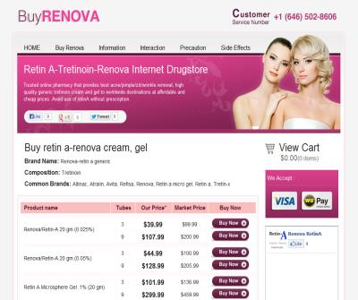 Retin-A renova anti-acne skin treatment