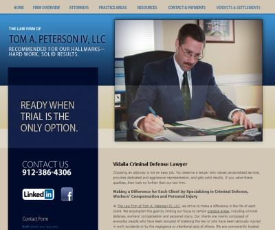 The Law Firm of Tom A. Peterson IV, LLC