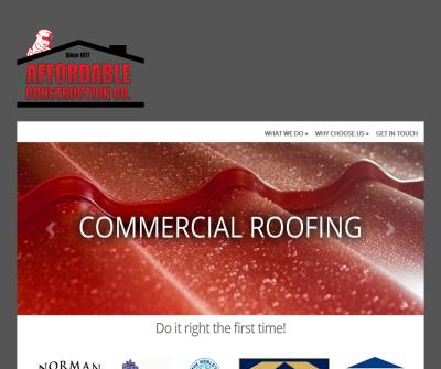 Roofing Construction Edmond