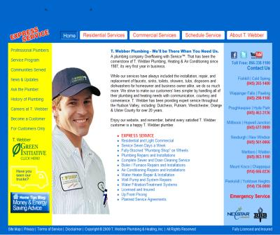T. Webber Plumbing, Heating & Air Conditioning
