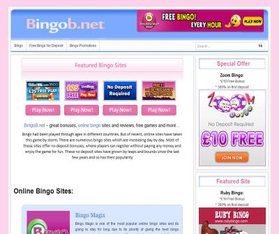 Amusing On the Top Online Bingo Sites at Bingob.net