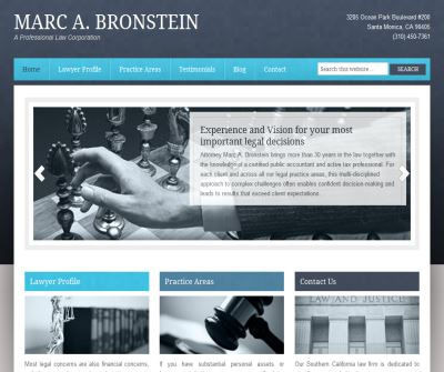 Marc A. Bronstein, A Professional Law Corporation