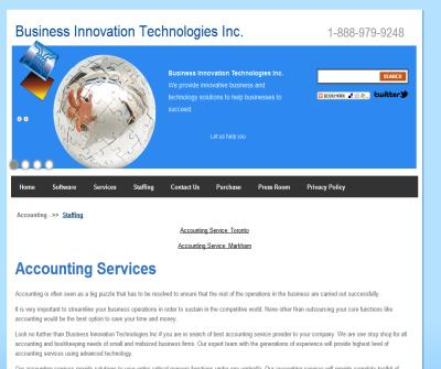 Accounting Service | Customized Accounting Solutions | Accounting Services Canada