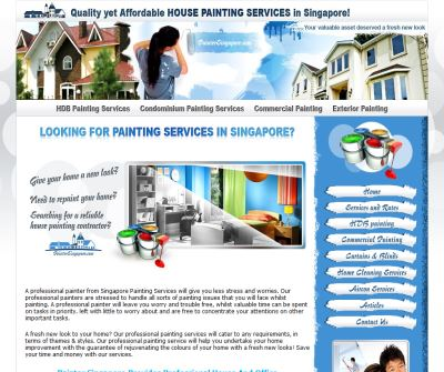 House Painting Services (Singapore)
