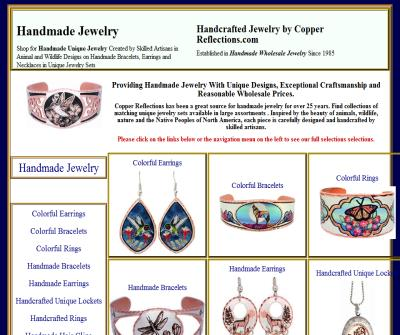Handcrafted Jewelry by Copper Reflections