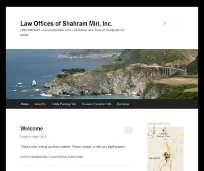 Law Offices of Shahram Miri, Inc.