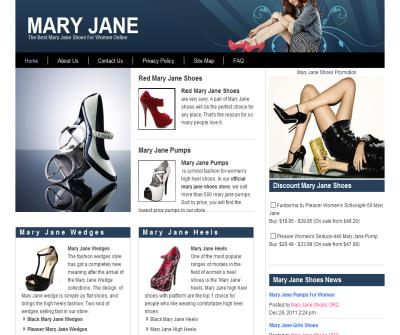 Mary Jane Shoes Store