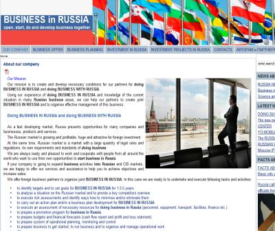 BUSINESS with RUSSIA and BUSINESS in RUSSIA - open, start, do and develop business together