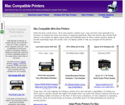 Best-Selling Apple iPad and Mac Compatible Printers - For Home or Office