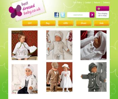 Christening dresses, christening gowns and suits for boys