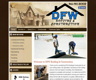 DFW Roofing and Remodeling