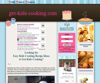 Kids cooking recipes, easy to follow & delicious to make  eat!