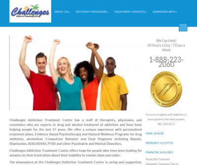 Challenges Drug Rehab and Relapse Prevention Center