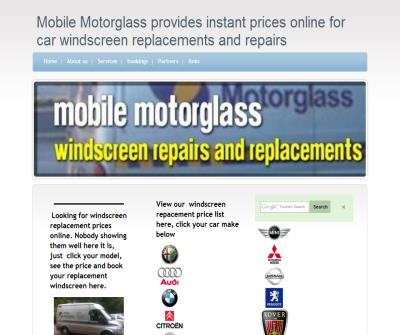 mobile motor glass