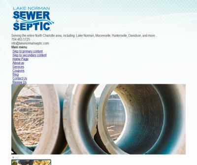 Septic Tank Service Charlotte NC
