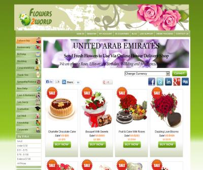 Christmas flowers delivery uae