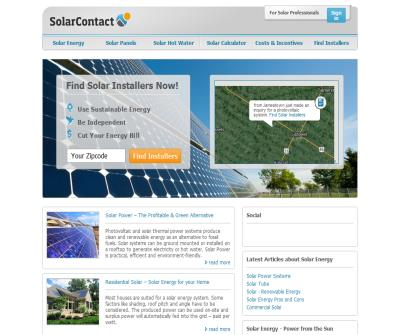Solarcontact - Find qualified solar installers near you