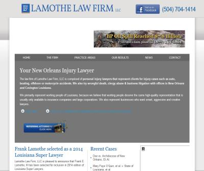 New Orleans Injury Lawyer