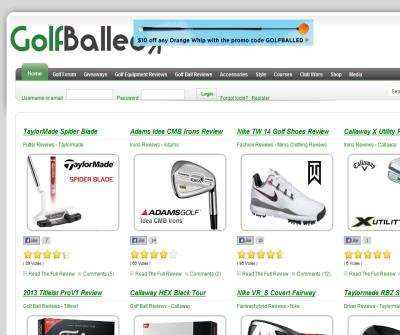 GolfBalled - Golf Equipment Forum