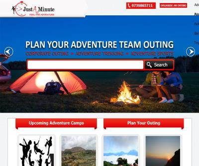 justaminute resorts and adventures
