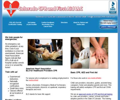 Colorado CPR and First Aid LLC
