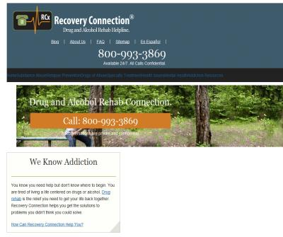 Addiction Treatment and Recovery Info | RecoveryConnection.org