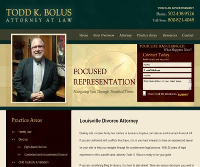 Todd K. Bolus, Attorney at Law