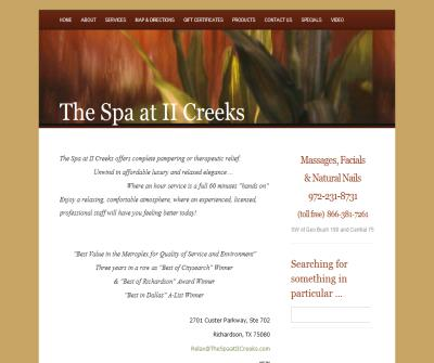 The Spa at II Creeks