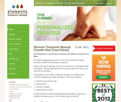 Elements Therapeutic Massage-Casa Paloma