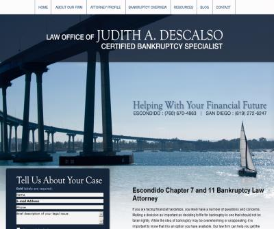 Law Office of Judith A. Descalso