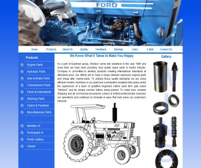 FORD Tractor Parts SUPPLIER, Ford Tractor Spare Parts MANUFACTURER from India