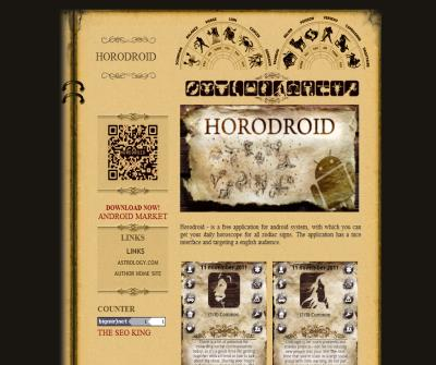 HoroDroid is free english horoscope for android